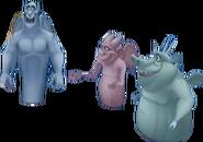Victor, Hugo, and Laverne KH3D