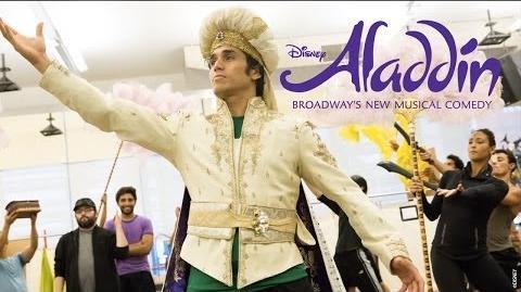 Disney's ALADDIN - Artist Spotlight Casey Nicholaw