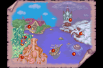 Disney's Magical Quest 3 Starring Mickey and Donald Map 1