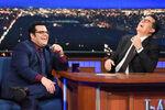Josh Gad visits Stephen Colbert