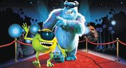 Mike, Sulley, and other Monsters