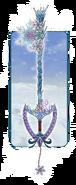A frozen heart keyblade by emeraldsora-d7dzsvd