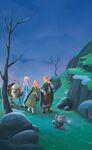 Frozen Northern Lights Promotional Art