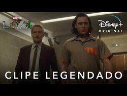 Loki - Apresentando o Agente Mobius - Clipe Oficial Legendado - Marvel Studios
