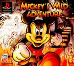 Mickey's Wild Adventure Playstation Cover