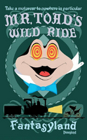 Mr. toad wild ride poster