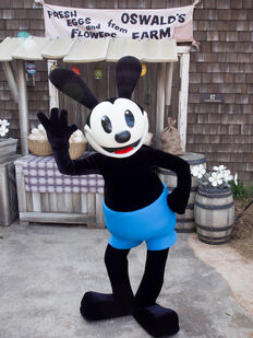 Tokyo DisneySea Oswald Greet