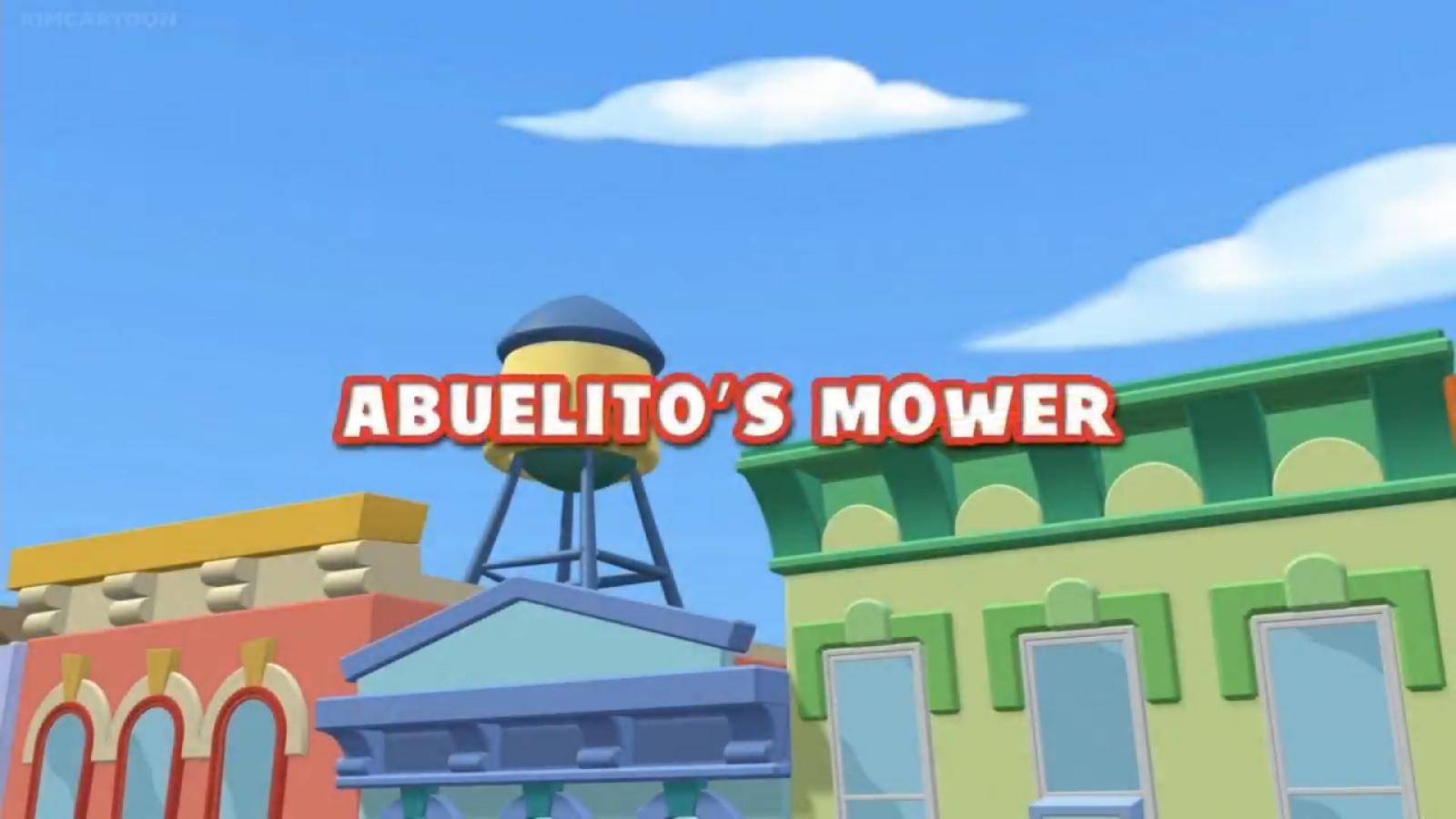 Abuelito's Mower