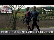 Falcão e o Soldado Invernal - Marvel Studios - Primeiro Conteúdo Exclusivo Dublado I Disney+