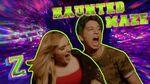 Meg and Milo Take on the Haunted Maze Challenge!🎃 ZOMBIES 2 Disney Channel