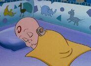 Robbie sleeping