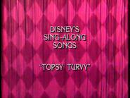Topsy Turvy 1996 closing title