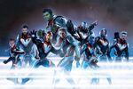 Avengers Endgame tech suits promo