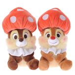 CHIP'N'DALE ORGANIC PARTY Chip & Dale mushroom stuffed toy