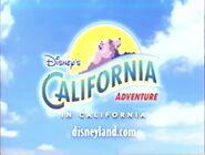 Disney's California Adventure 2001 promo