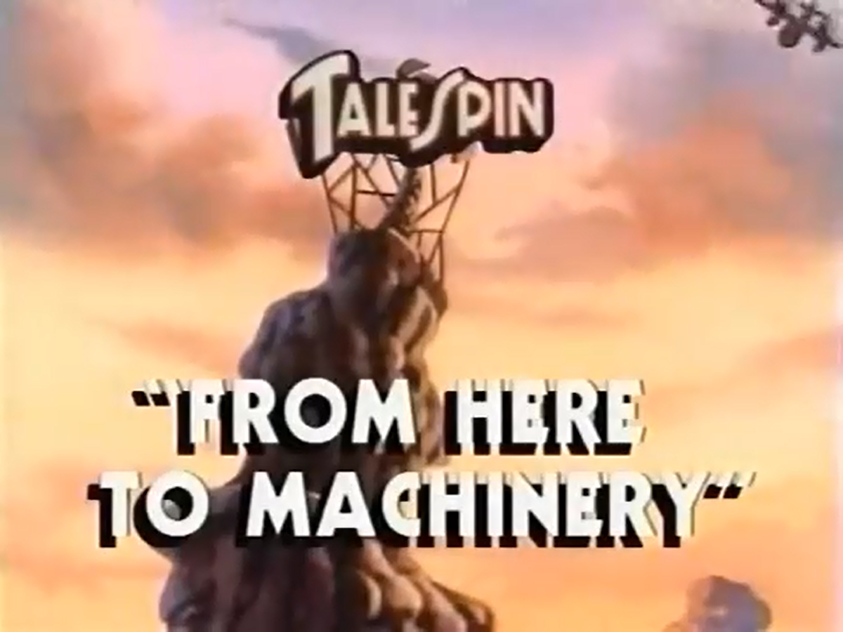 From Here to Machinery