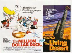 Million dollar duck living desert uk poster