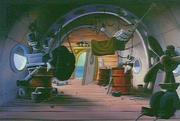 Wildcat's Houseboat interior