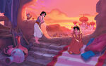 Disney Princess Jasmine's Story Illustration 4