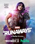 Runaways - Season 3 - Gert Yorkes and Old Lace