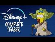 Simpsons Disney + TEASER (COMPLETE VERSION)