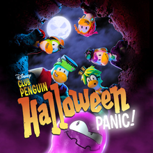 Club Penguin Halloween Panic!
