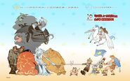 Kingdom Hearts 10th Anniversary Titans poster