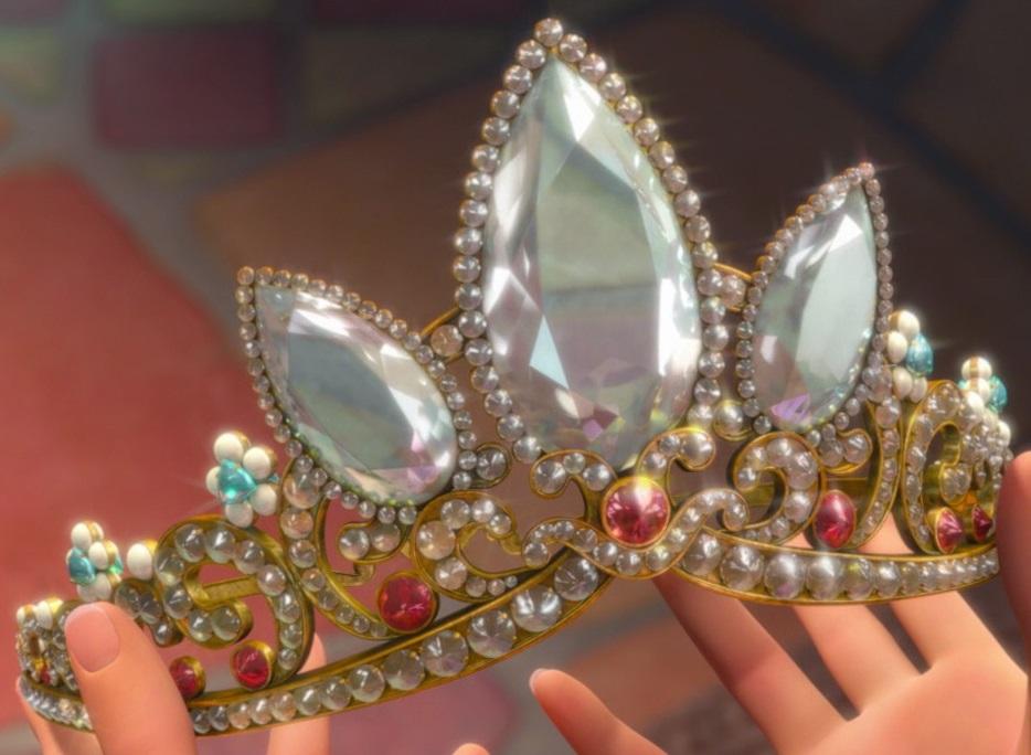 Coroa da Rapunzel