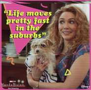 WandaVision Life Moves Pretty Fast Promotional Image