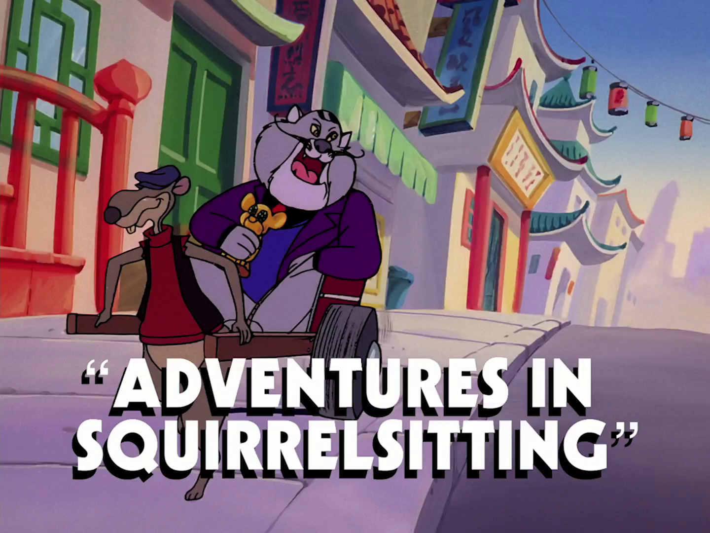Adventures in Squirrelsitting