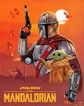 Disneyplus - May 4th - The Mandalorian Art