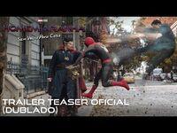 Homem-Aranha- Sem Volta Para Casa - Trailer teaser oficial dublado - 16 de dezembro nos cinemas