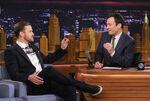 Justin Timberlake visits Jimmy Fallon