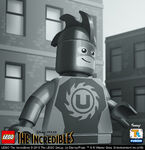 LEGO Incredibles portraits - Universal Man
