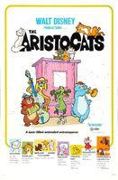 True Original Aristocats Theatrical Poster