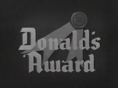 Donald's Award
