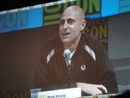 Comic-Con 2010 - Green Lantern panel - Mark Strong (Sinestro)