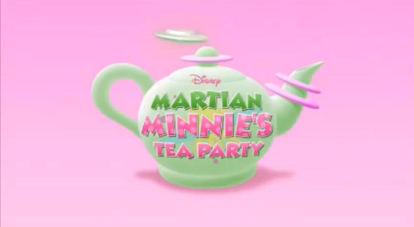 Martian Minnie's Tea Party