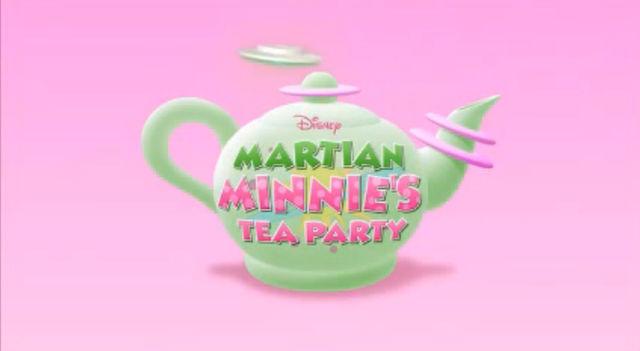 A Festa do Chá da Minnie Marciana