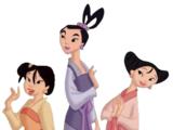 Ting-Ting, Su y Mei