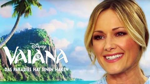 VAIANA - Helene Fischer über den Film und den Titelsong 'Ich bin bereit' Disney HD