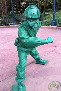 Green Army Men HKDL