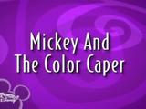 Mickey and the Color Caper