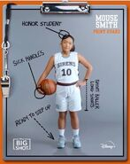 Mouse Smith Big Shot Clipboard