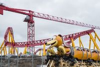 Slinky Dog Dash Under Construction