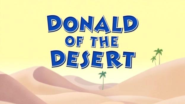 Donald of the Desert