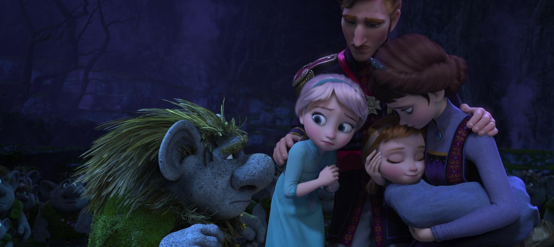 Disney Reine Elsa Anna Frozen Rock Robe Rose