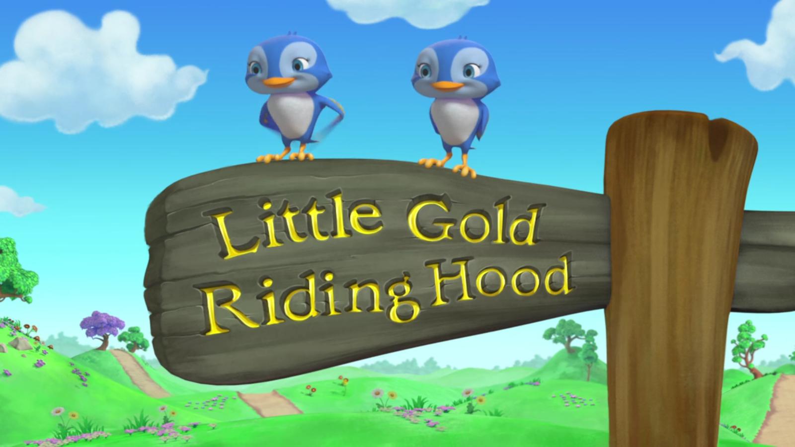 Little Gold Riding Hood