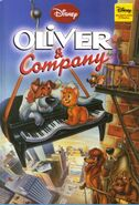 Oliver and company disney wonderful world of reading hachette partworks