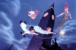 Peter Pan flying round big Ben.jpg